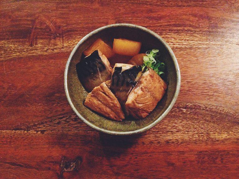 Saba-Daikon-Japanische-Rezepte-Japanische-Hausmannskost-Uchi-Gohan